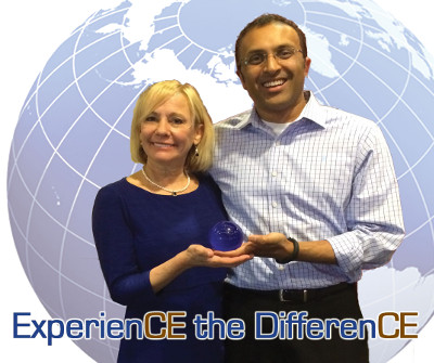 Rose Nierman and Mayor Patel